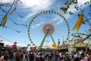 The annual Stuttgarter Frühlingsfest, or spring festival, typically runs from mid April through the second week of May at the Cannstatter Wasen fest grounds in Bad Cannstatt. The festival offers various rides such as wild water rafting, bumper cars, carousels, haunted houses, a Ferris wheel and roller coaster, as well as pony rides and merry-go-rounds for children.