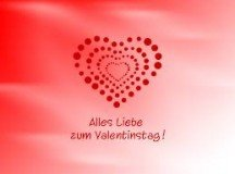 History of how Valentine's Day came to be in Germany
