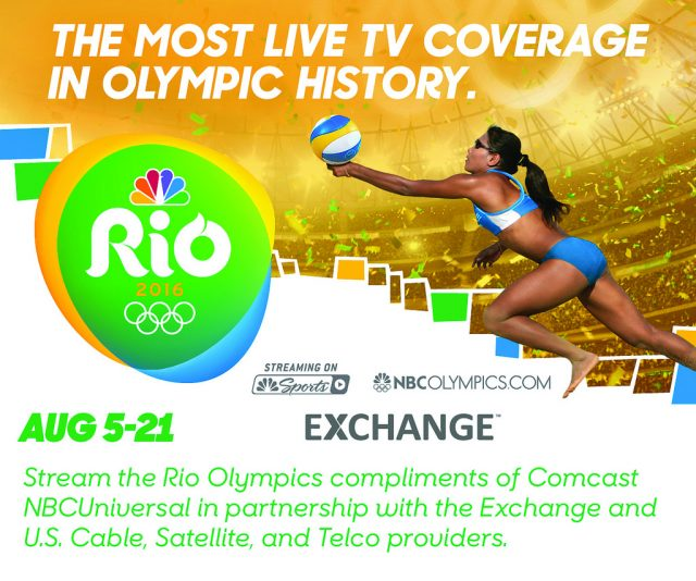 Coverage of the 2016 Rio Olympics goes live