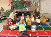 Fourth graders create time capsules for their future