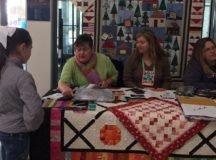 Black Forest Quilt Guild meeting, mini retreat