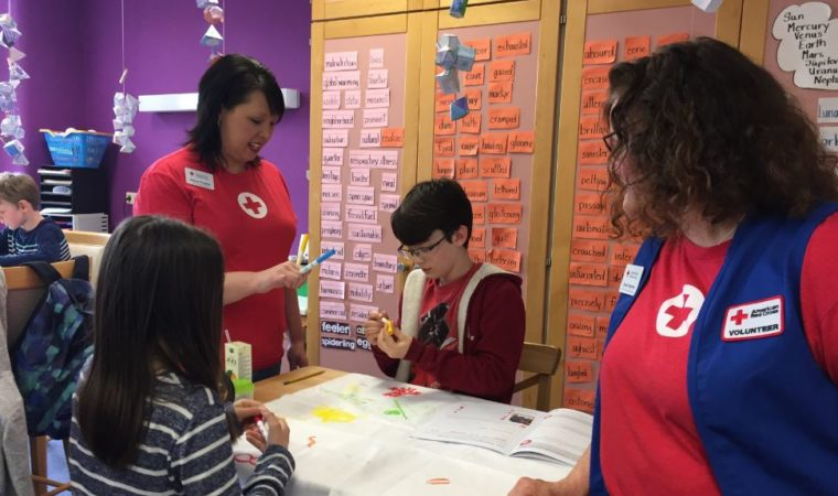 Red Cross brings first Pillowcase Project to Stuttgart students