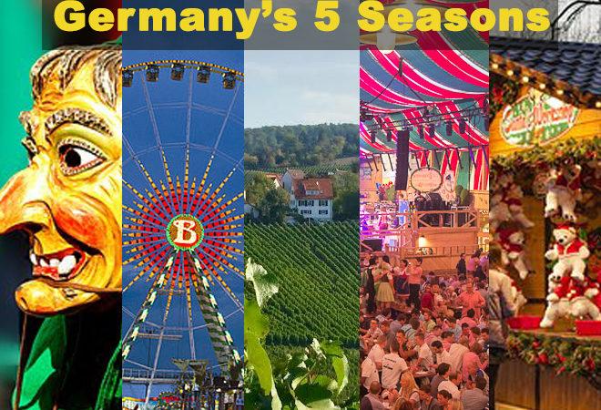 Spring to Winter: Germany's 5 festive seasons