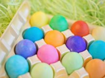 History of Easter and colored eggs, German Customs