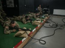 Soldiers test new training equipment at Panzer Range Complex