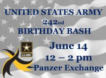 Army Birthday Bash June 14