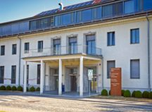 The CPF, located in Bldg. 2913, Panzer Kaserne, is the beginning point for in-processing to the Stuttgart military community. Housing, furnishing and driver testing/licensing offices, plus a German kantine, are also located within the building. Photo by USAG Stuttgart Public Affairs