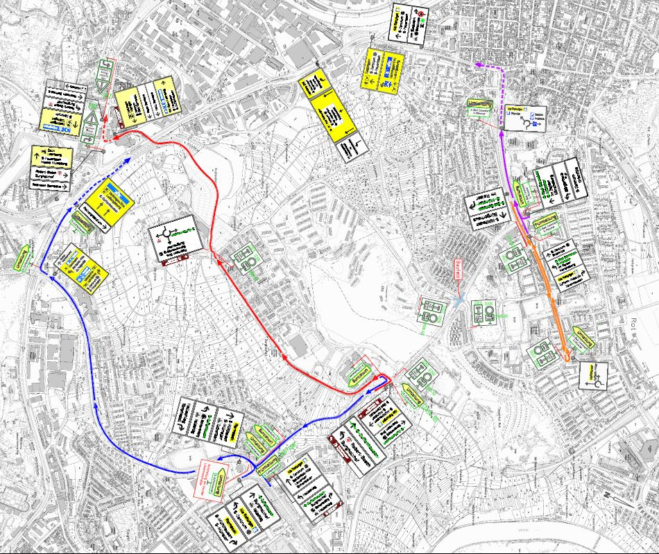 Road construction planned near Robinson Barracks July 3 to August 20