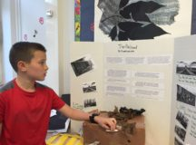RBES students create a WWII Museum