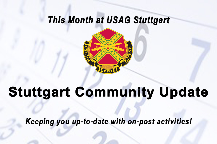 Stuttgart Monthy On-Post Calendar