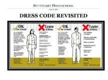 Stuttgart High School dress code enforced in new school year