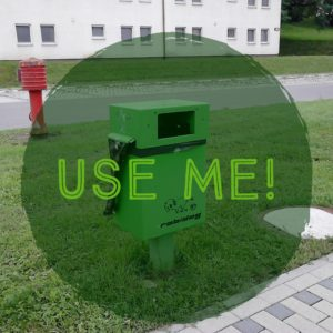 Pet Owners: Did you know there is a green bin for pet waste?