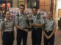 Stuttgart High School's Army Junior Reserve Officer Training Corps (JROTC) Academic Team competed in Washington D.C. this summer against the 24 remaining teams out of 1,505 Army JROTC programs nationwide. Photo courtesy of Stuttgart High School