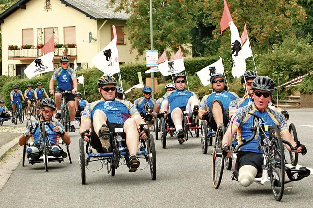 Conquering challenges with therapeutic ride