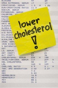 Lower cholesterol to  improve health