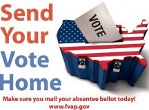 Register now for absentee voting