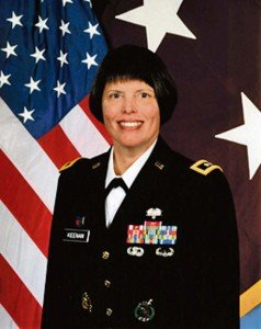 Maj. Gen. Jimmie O. Keenan Commanding general, Southern Regional Medical Command and Chief, U.S. Army Nurse Corps