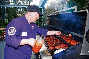 America's Chef cooks up fun