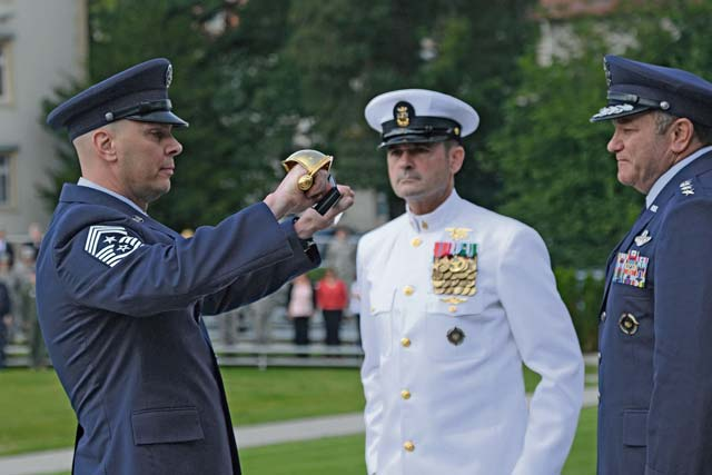 EUCOM welcomes new senior  enlisted leader