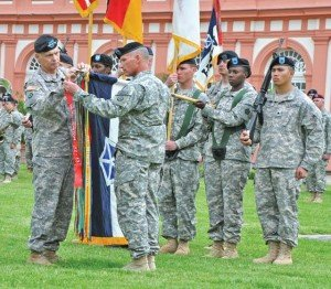 V Corps inactivates after nearly century of service to U.S. Army