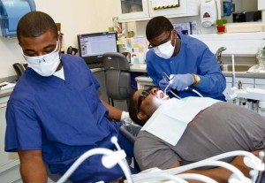 Dental clinic treats military retirees to say thanks