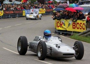 """Solitude Revival e.v. A Porsche Formula 1 racing car from the 60s will participate  in this year's """"Solitude Revival"""" international old-timer and motorcycle racing festival July 19-21 at the """"Solitude Ring"""" in Leonberg."""