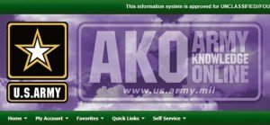 U.S. Army graphic Retirees and family members should activate the forwarding function in their Army Knowledge Online account profile before Dec. 31, 2013, when their email will no longer be accessible. The Army established AKO in the late 1990s to provide online information services for U.S. Army personnel, and then later extended some AKO services to retirees and family members. Services have included email, collaboration, discussion forums, a directory, and direct access to many DOD and VA websites.