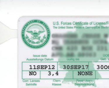 Don't get caught with an expired stateside license