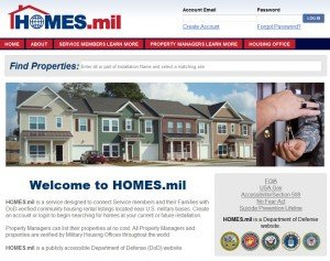 New DOD website helps service members find homes