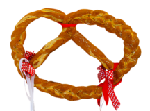 Schwäbische Palmbrezeln (Swabian Palm Pretzels)       are larger than usual and are made without salt or brine.