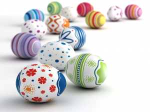 Easter eggs are featured year round at the Osterei-Museum in Sonnenbühl. Photo by Shutterstock.com.