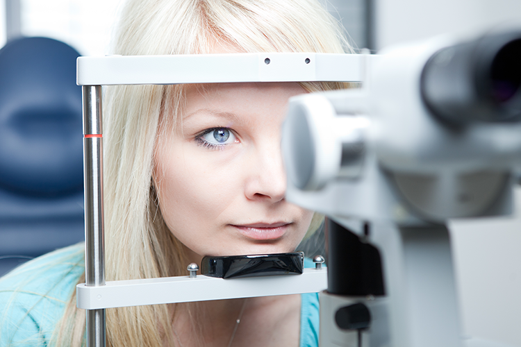 Many causes of vision problems are preventable. Regular eye exams should be part of women's health routine to minimize risk. — Photo by Shutterstock.com.