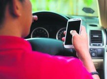 Break the bad habit of distracted driving