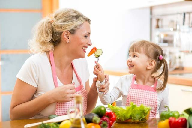 Food refusals: establishing healthy eating habits for children
