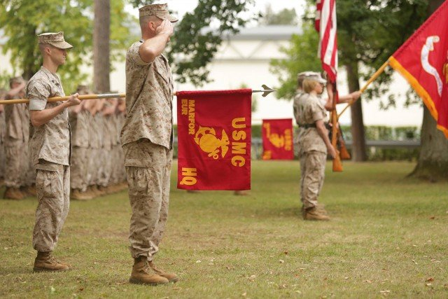 Marine general commanding forces in Europe, Africa takes post