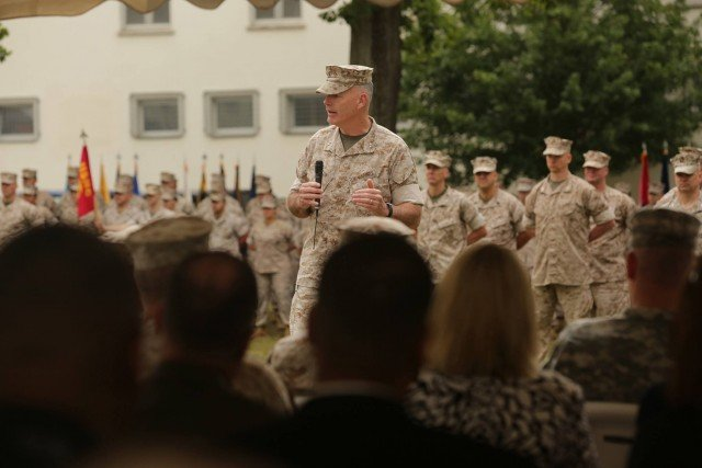 Major General Niel E. Nelson has assumed command on Aug. 19 2015 as the commander of Marines in both Europe and Africa to be based in Germany alongside the two geographical combatant commanders, Gen. Philip M. Breedlove and Gen. David M. Rodriguez, thereby uniting the Marines operating across two continents.