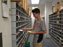 Evan Mott at Patch Postal Services.