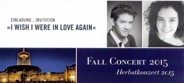 German American Fall Friendship Concert