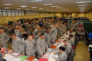 Soldier Readiness Processing prepares service members