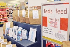 DeCA collects 1.6M pounds in Feds Feed Families items