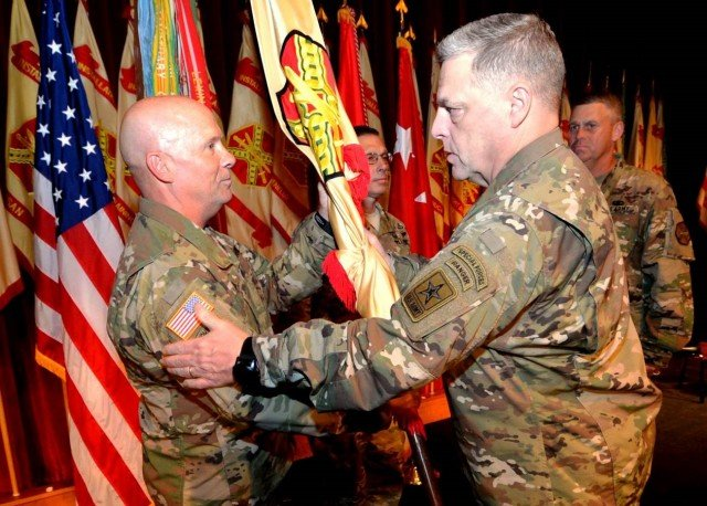 Dahl promoted, takes command of Army Installation Management Command