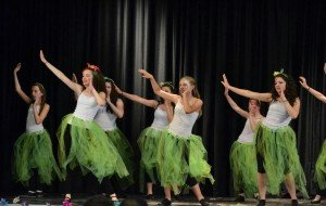 """In 2015 Dance Production Studio held a Peter Pan and the Pirates production in the Patch Forum. Sara Kitchen, Ava Moore, Hayley Ramage and Isabella Weibel acted as the """"Mermaids"""", while performing a unique choreography to """"Mermaid"""" by Train."""