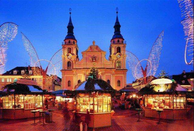 Ludwigsburg's baroque-inspired market