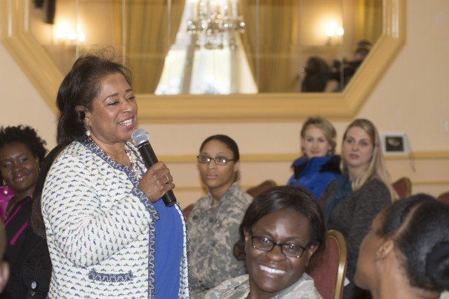 Abernathy visits USAG Stuttgart to remember Martin Luther King Jr.