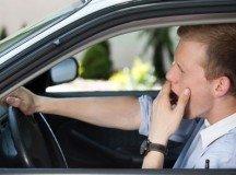 Don't fall asleep at the wheel