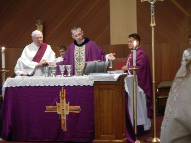 Visiting Chaplains presided over USAG Stuttgart's Ash Wednesday services