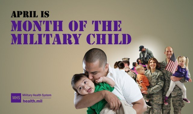 Month of the Military Child recognizes young family members