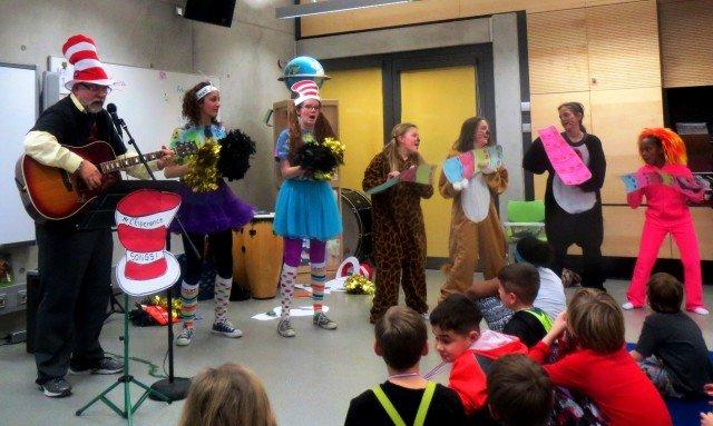 Stuttgart students celebrate Dr. Seuss for Read Across America Day