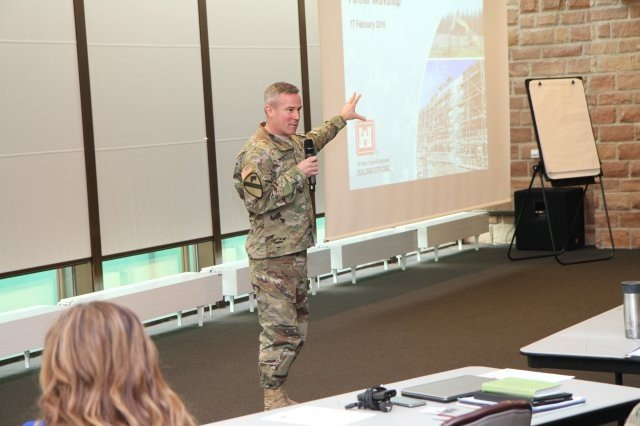 Partners huddle at USACE workshop as construction booms in Europe