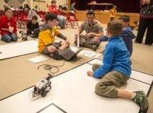 Military children serve, too